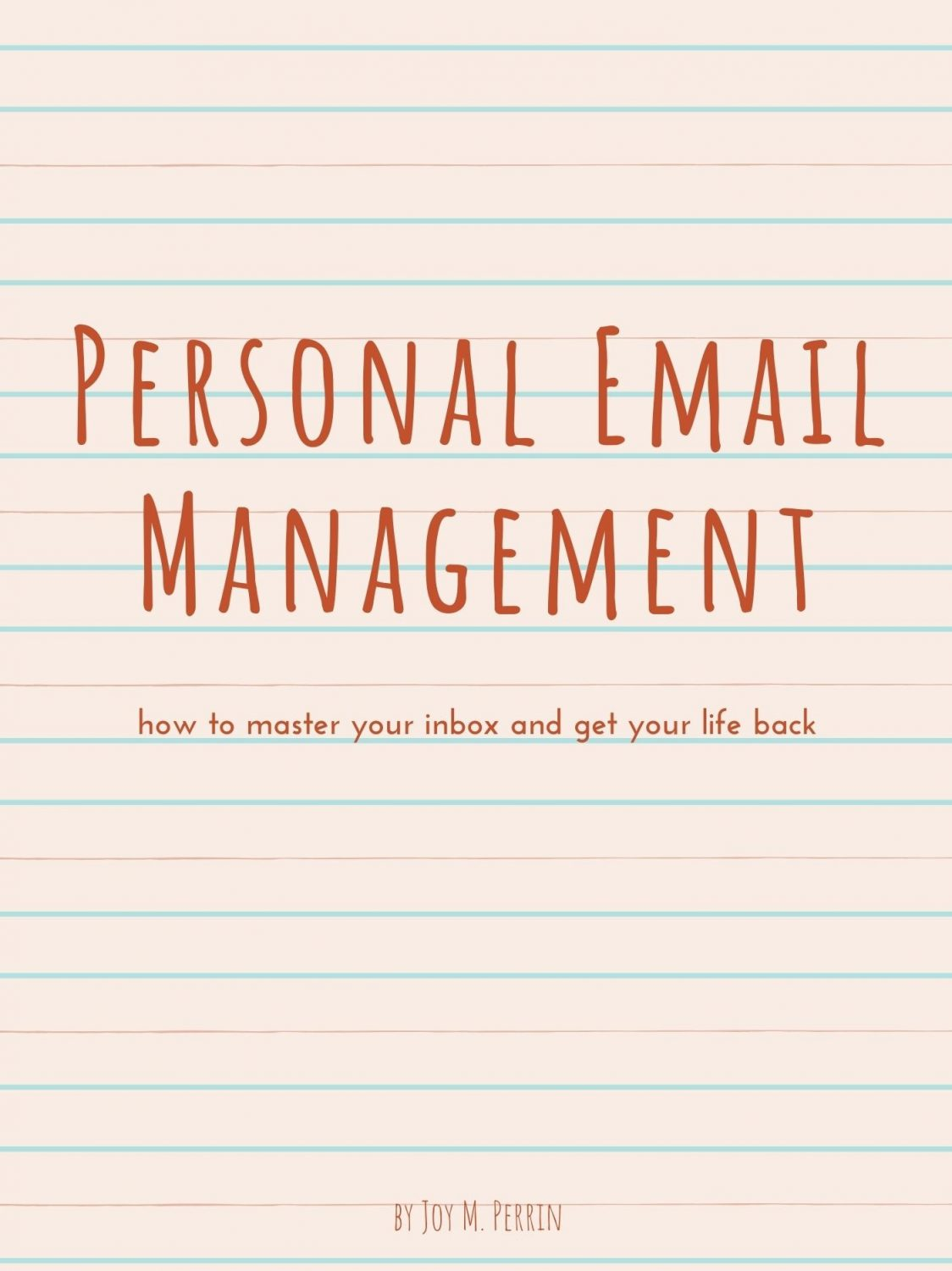 Cover image for Personal Email Management