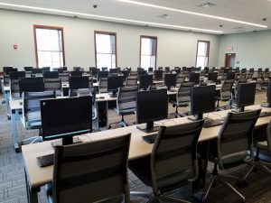 Image of the Rawls College of Business Testing Center.